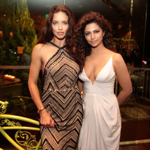 BrazilFoundation TeamRio Benefit Dinner Adriana Lima e Camila Alves