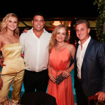 TeamRio Benefit Dinner Celina Locks, Ronaldo fenomeno, Angelica e Luciano Huck