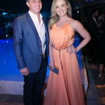 BrazilFoundation TeamRio Benefit Dinner Luciano Huck e Angelica
