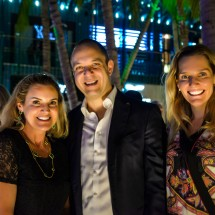 Virginia Bartolomeo, Ricardo Puggina, Daniela Fonseca BrazilFoundation Miami PreGala Cocktail Reception 2018 Miami Design District Philanthropy Florida