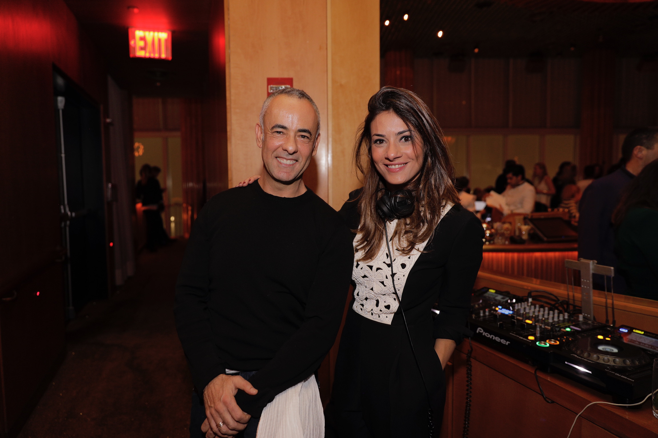 Francisco Costa, DJ Marina Diniz An Evening of Solidarity for Brumadinho BrazilFoundation AbraceMinasGerais Charity New York